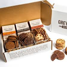 cookie gift boxes grey ghost bakery delivered nationwide goldbely