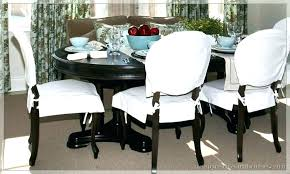 dining room chair seat slipcovers emejing dining room chair cushion covers photos rugoingmyway us