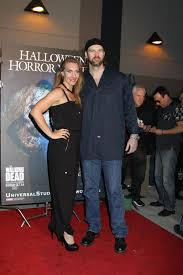 halloween horror nights chance actress tyler mane and guest at the annual eyegore awards opening night of
