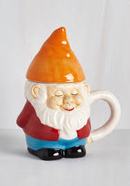 modcloth home decor rolling with the gnomies mug modcloth gnomes and cups