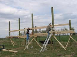 pole barn build a pole barnalmost a farmer