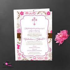 Baptismal Invitation Card Design Invitation For Baptism Template Futureclim Info