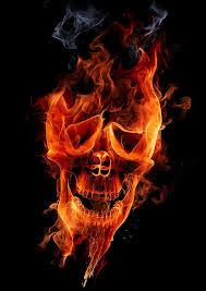 flaming skull skullspiration com skull designs tattoos