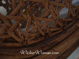 chair caning and wicker repair charges