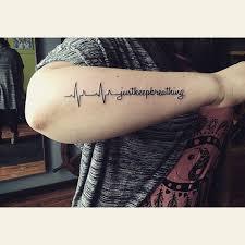 25 trending ekg tattoo ideas on pinterest heartbeat tattoos