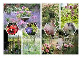 Beautiful Purple Motifs 3 Focal Point Prints Summer Joy Woodland Mystique Garden Dreams