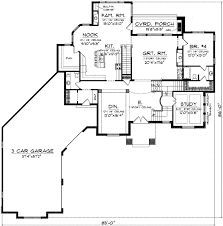 1 story house floor plans two story stucco home 89757ah architectural designs