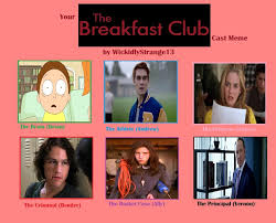Breakfast Club Meme - the breakfast club cast meme by carriejokerbates on deviantart
