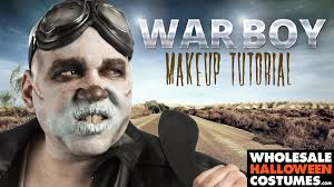 Max Halloween Costume Mad Max War Boy Makeup Tutorial Whcdoessfx