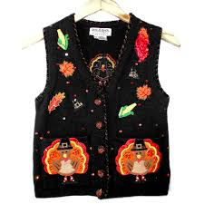 thanksgiving vest tony danza is a turkey tacky thanksgiving sweater vest the