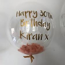 send birthday balloons in a box send a gift balloon in a box personalised feather balloons