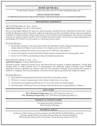 Resume Templates For Applications Free Applications Engineer Resume Exle