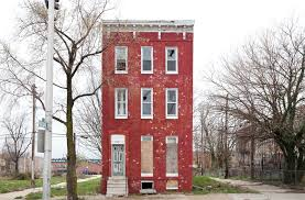 solitary row houses defy the process of urban decay wired