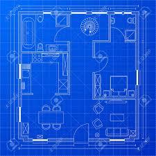 blueprint floor plan detailed illustration of a blueprint floorplan royalty free cliparts