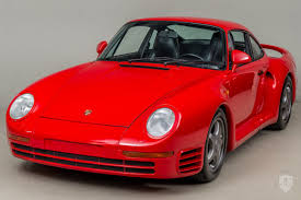porsche 959 price 1987 porsche 959 in scotts valley ca united states for sale on