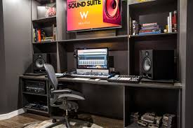 Producer Studio Desk by Photos Seattle Hotel Debuts In House Recording Studio For