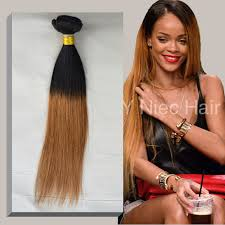 ombre weave 1 bundle high quality human hair two tone ombre 1b 30