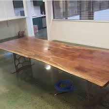 Live Edge Conference Table Live Edge Dining Tables