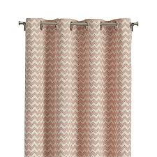 Crate And Barrel Curtain Rods Decor Reilly Orange Chevron 50