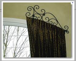 Decorative Rods For Curtains 130 Best Drapery Hardware Images On Pinterest Windows Arched