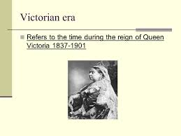 victorian literature victorian era refers to the time during the