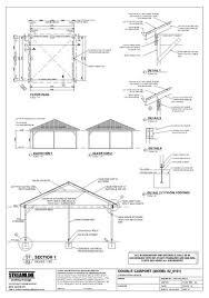 carport building plans download free carport plans building carport plans pinterest