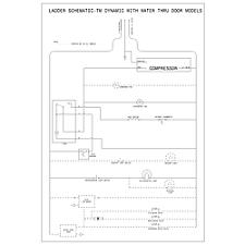 refrigerator wiring schematic wiring diagram simonand
