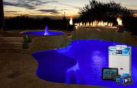 hayward elite pool light in ground pool backyard automation systems hayward pool products