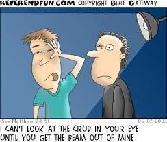 Blinded By Light Reverendfun Com Cartoon For Jun 2 2003