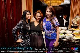 Gayan Chathurika Son In Home Nick 1st B U0027day Party Sri Lanka Picture Gallery