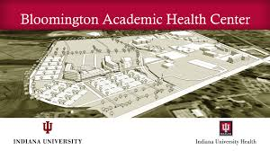 Indiana University Map Iu Iu Health Bloomington Hospital Announce New Health Complex Iu