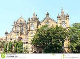 old colonial style building mumbai india editorial stock photo