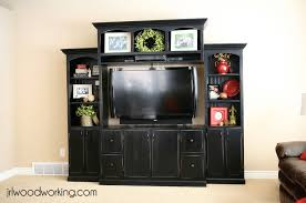 Dvd Holder Woodworking Plans by 11 Free Entertainment Center Plans