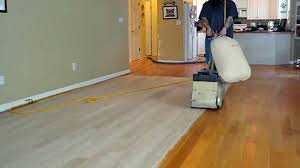 sanding and refinishing wood floors contemporary on floor within
