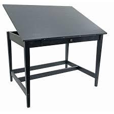 Alvin Elite Drafting Table Alvin 36 X 48 Vanguard Drawing Room Table In Black Ash Van48 Ba