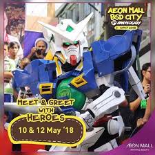 bca aeon meet greet with heroes at aeon mall bsd city gotomalls