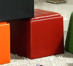 red storage ottoman large size of storage ottoman red tufted