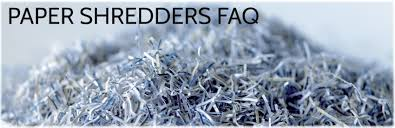 Home Paper Shredders by Paper Shredders Frequently Asked Questions