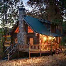 Small Cabin Home Well This Looks Pretty Perfect Log Cabin Homes Pinterest