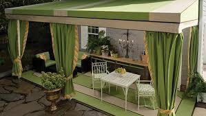 outdoor awning fabric awning patio drapes
