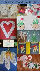 Xmas Kids Crafts - 21 handprint and footprint christmas crafts footprints 21st and