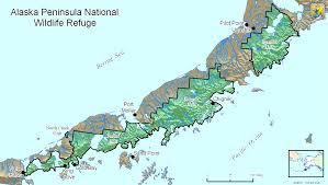 Map Alaska File Map Alaska Peninsula National Wildlife Refuge Png Wikimedia