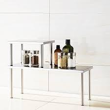 Bathroom Countertop Storage by Countertop Bathroom Storage Shelf Amazon Com