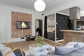 coin chambre dans salon chambre salon aménagements astucieux pour petits espaces