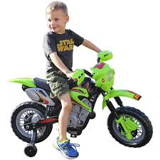 razor mx650 dirt rocket electric motocross bike fun wheels 6v battery powered ride on dirt bike green walmart com