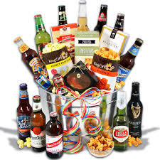 birthday gift baskets for around the world 12 beers by gourmetgiftbaskets
