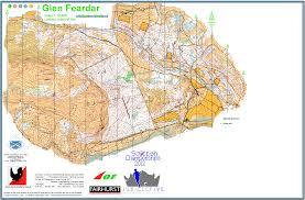 Stirling Scotland Map Glen Feardar June 26th 2016 Orienteering Map From Maroc