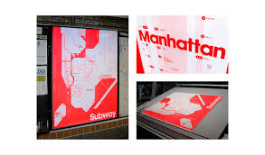 Subway Map Manhattan One Color Subway Map U2014 Triboro