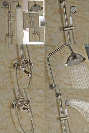 shower bathroom tap sets stunning exposed pipe tub and shower