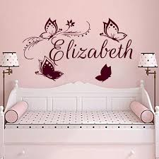 Name Wall Decals For Nursery by Girls Wall Stickers For Bedrooms Moncler Factory Outlets Com